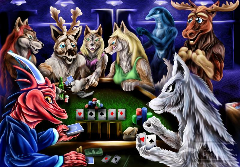 'Big Steaks' Poker