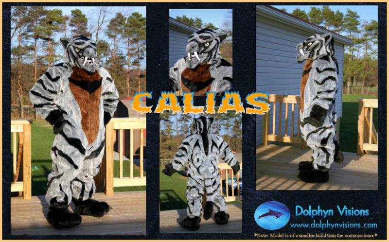 Calias Fursuit Commission
