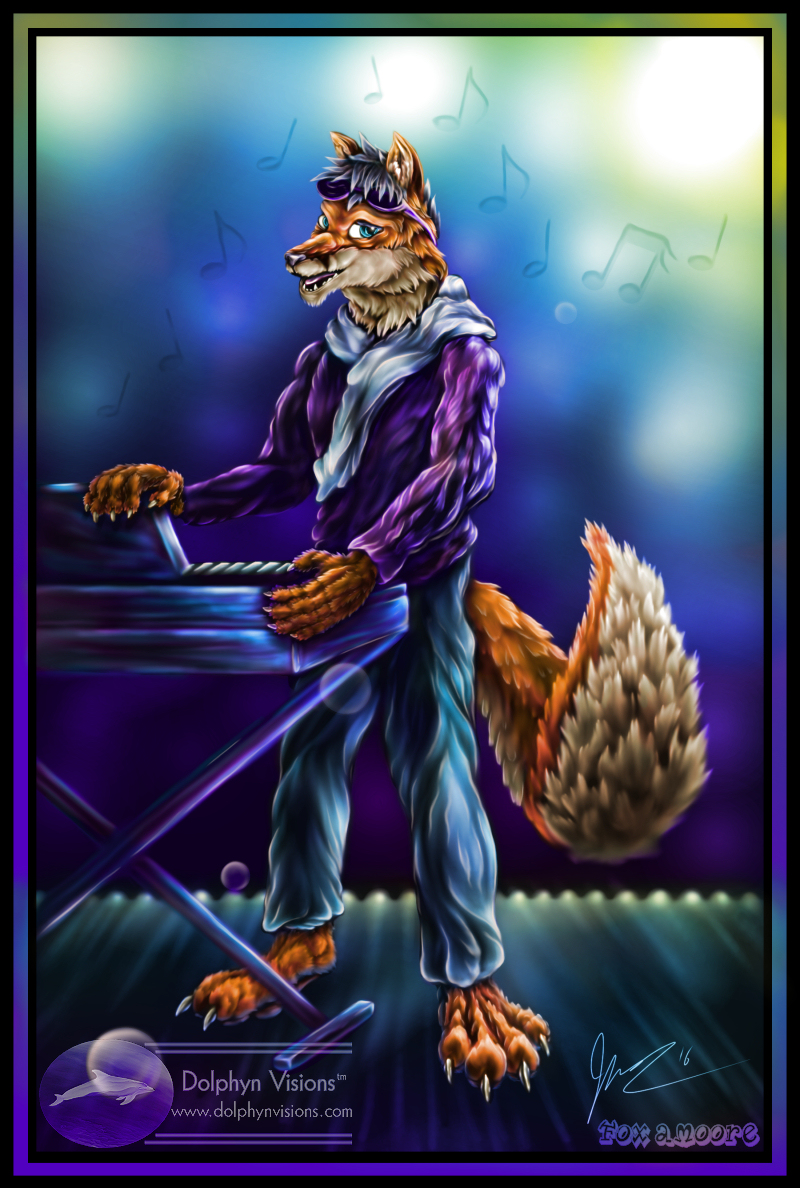 Across the Musical Spectrum (Fox Amoore)