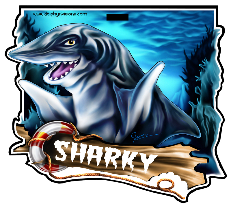 Sharky Badge 2017